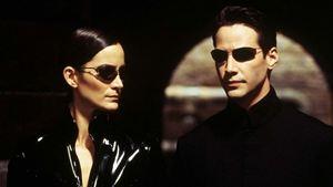 """Matrix 4""ten Keanu Reeves ve Carrie Anne Moss"