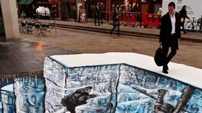 Game of Thrones'un Duvar'ı Londra Sokaklarında