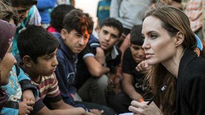 Angelina Jolie Mülteci Krizi Hakkında Konuştu!