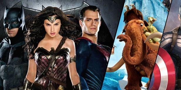 2016'da Türkiye'de En Yüksek Gişe Yapan 20 Hollywood Filmi!
