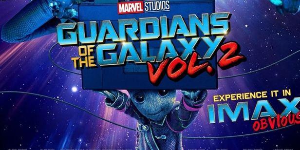 """""""Galaksinin Koruyucuları 2"""" Filminden IMAX Poster!"""