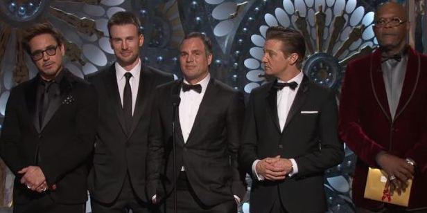Oscar Töreni'ni Avengers Ekibi Sunabilir!