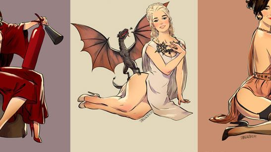 Game of Thrones Karakterleri Pin-up Kızı Olursa?