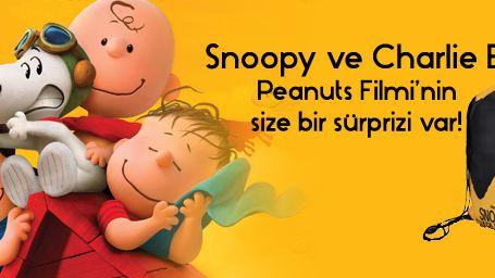 Snoopy ve Charlie Brown Peanuts Filmi'nden Hediye Var!