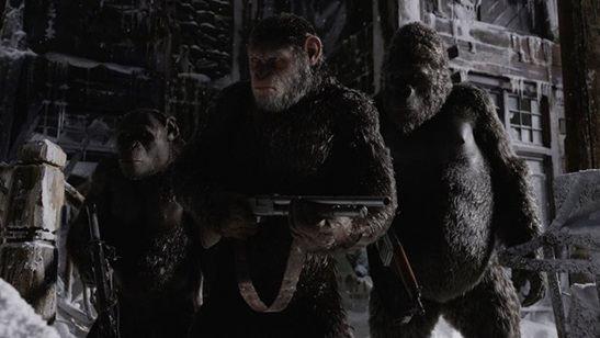"""Görsel Efekt Birliği Ödülleri'nde """"Maymunlar Cehennemi: Savaş"""" Fırtınası!"""