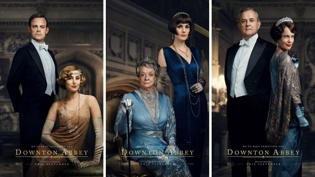 Downton Abbey'den Karakter Posterleri