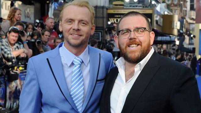 "Simon Pegg ve Nick Frost ""Truth Seekers""da Hayalet Avlıyor"