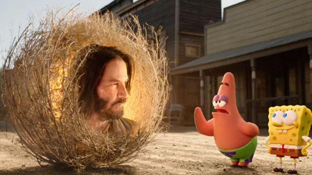 """""""SüngerBob KarePantolon: Firarda""""dan Keanu Reeves'li Fragman!"""