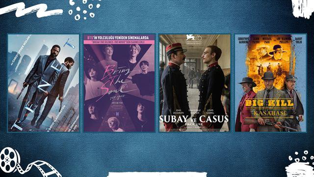 "Vizyondaki Filmler: ""Tenet"", ""Bring The Soul"", ""Subay ve Casus"""