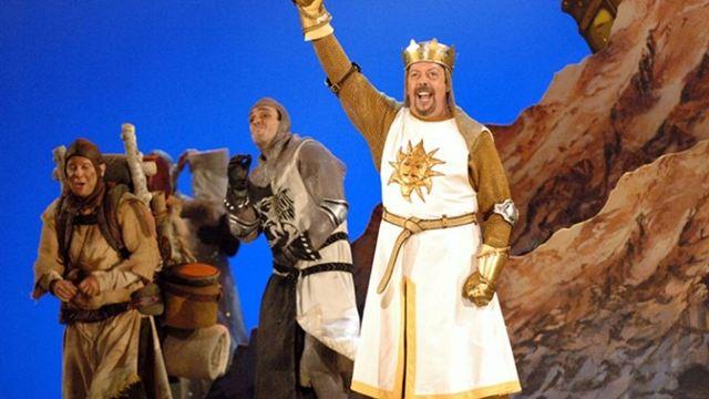 Monty Python'dan Uyarlanan Spamalot Müzikali Film Oluyor!