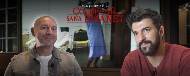 Çağan Irmak ve Engin Akyürek 'Çocuklar Sana Emanet'i Anlatıyor!