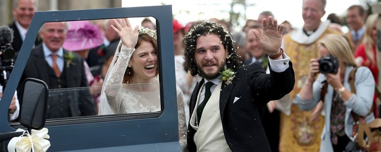 Game of Thronesun Jon Snowu ve Ygrittei dünya evine girdi 9