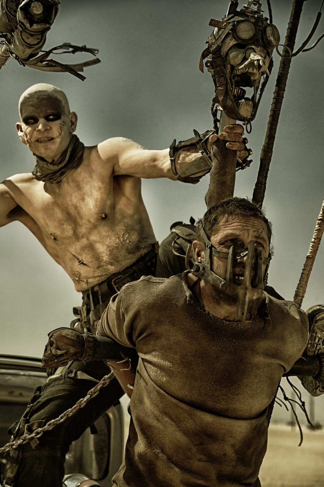 The best (in my humble opinion), was the trailer for mad max: fury road