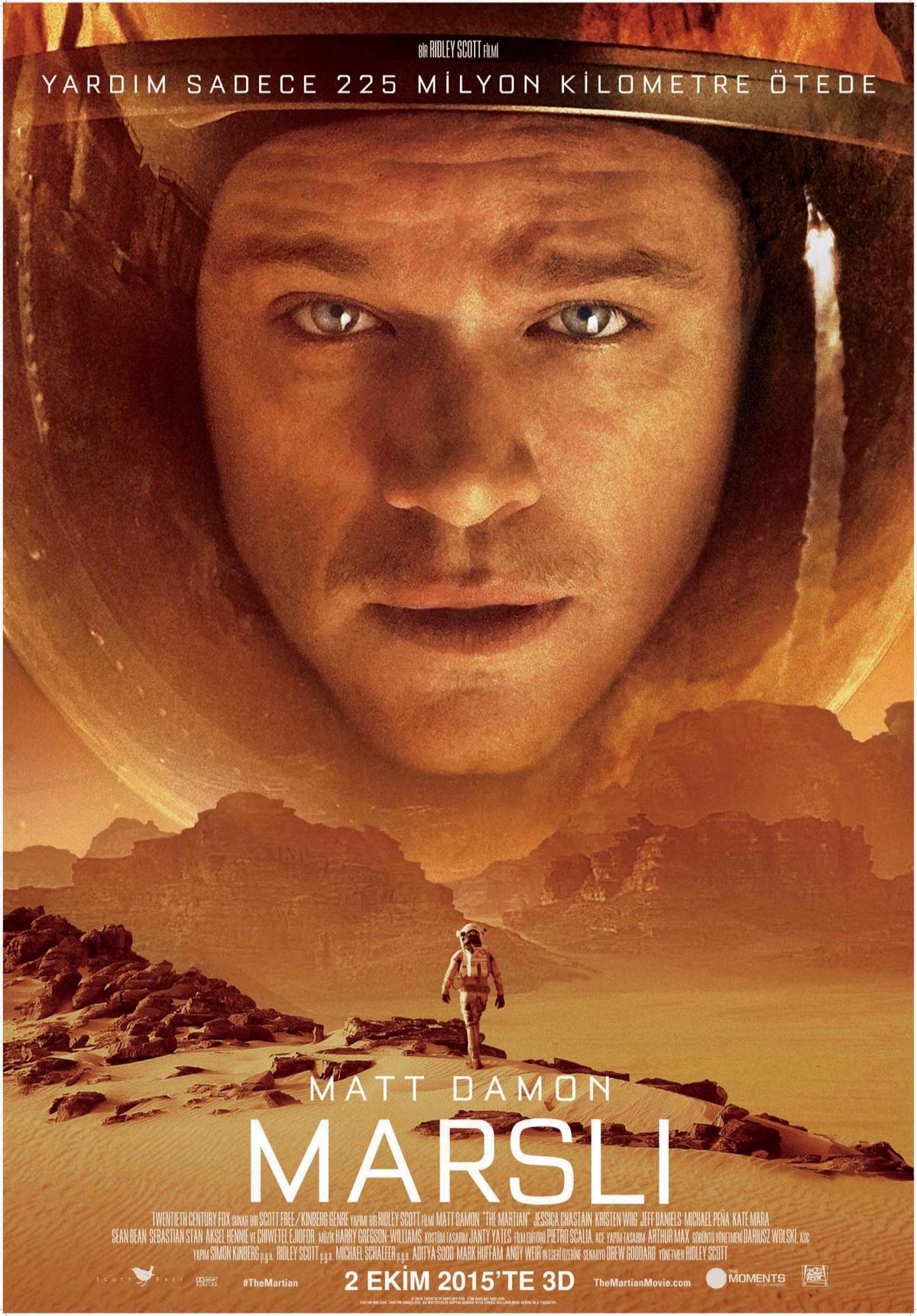 Marslı The Martian Beyazperdecom
