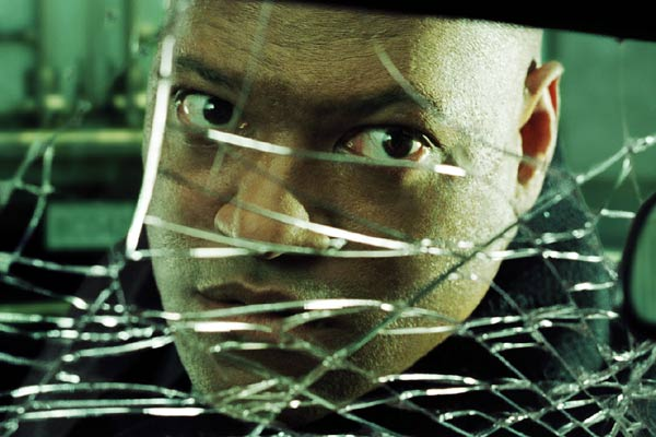 Matrix Reloaded : Fotograf Laurence Fishburne