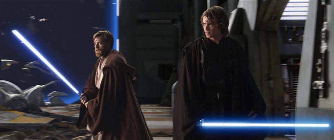 Yildiz Savaslari: Bölüm III - Sith'in Intikami : Fotograf Ewan McGregor, Hayden Christensen