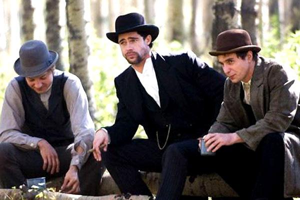 Korkak Robert Ford'un Jesse James Suikasti : Fotograf Andrew Dominik, Brad Pitt, Jeremy Renner, Sam Rockwell