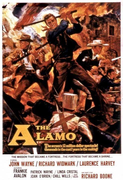 The Alamo : Fotograf John Wayne