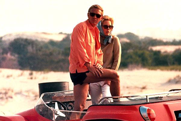 Thomas Crown Affair, The : Fotograf Faye Dunaway, Norman Jewison, Steve McQueen