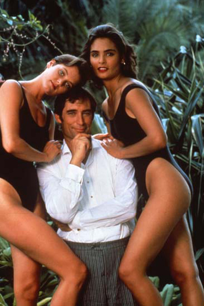 License to Kill : Fotograf Carey Lowell, John Glen, Talisa Soto, Timothy Dalton