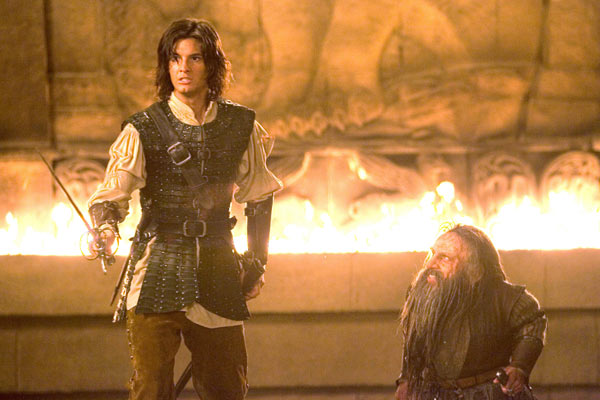Narnia Günlükleri: Prens Kaspiyan : Fotograf Andrew Adamson, Ben Barnes, Warwick Davis