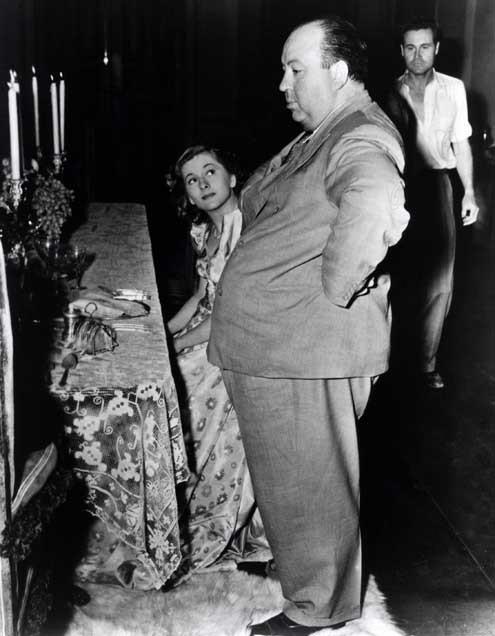 Rebecca : Fotograf Alfred Hitchcock, Joan Fontaine