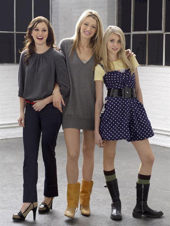 Gossip Girl : Fotograf Blake Lively, Leighton Meester, Taylor Momsen