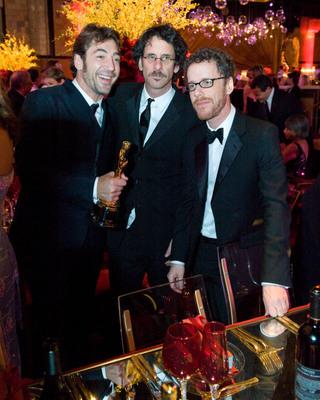 Fotograf Ethan Coen, Javier Bardem, Joel Coen