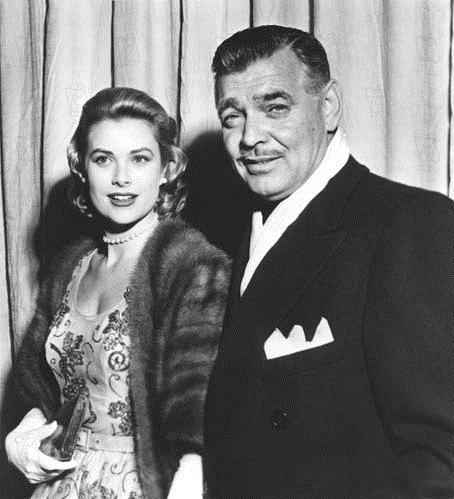 Fotograf Clark Gable, Grace Kelly, John Ford