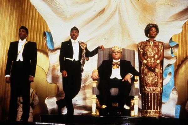 Coming to America : Fotograf Arsenio Hall, Eddie Murphy, James Earl Jones