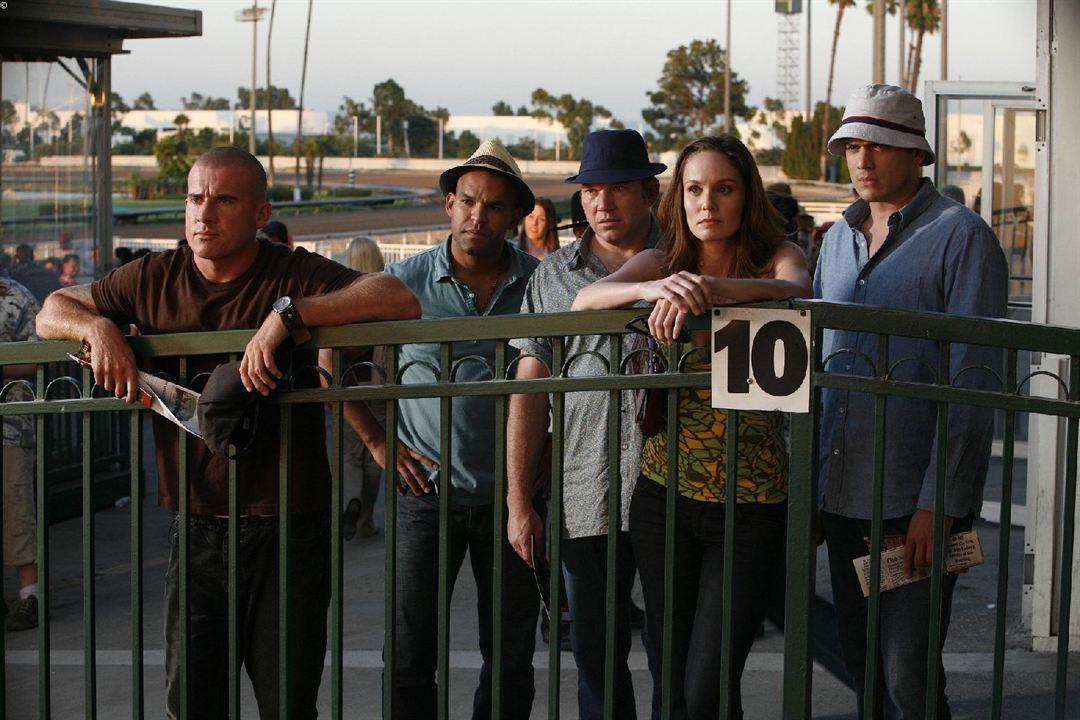 Prison Break : Fotograf Amaury Nolasco, Dominic Purcell, Sarah Wayne Callies, Wade Williams (II), Wentworth Miller