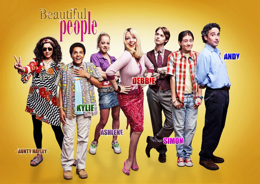 Beautiful People (UK) : Fotograf Aidan McArdle, Meera Syal, Olivia Colman, Samuel Barnett