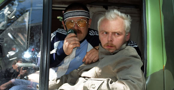 Spaced : Fotograf Nick Frost, Simon Pegg