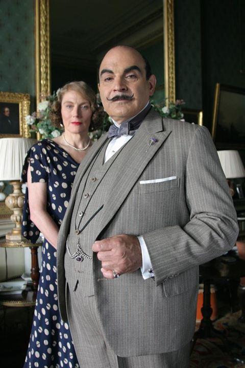 Agatha Christie's Poirot : Fotograf David Suchet, Geraldine James