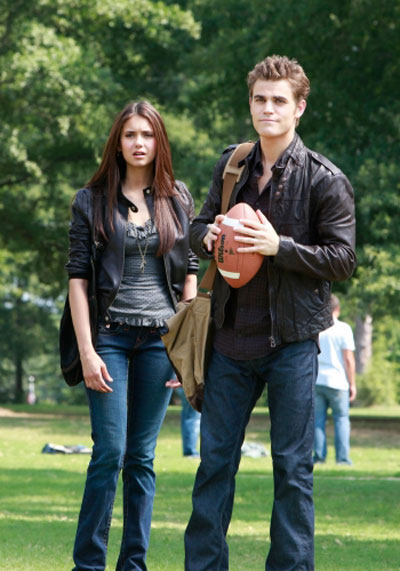 The Vampire Diaries : Fotograf Nina Dobrev, Paul Wesley