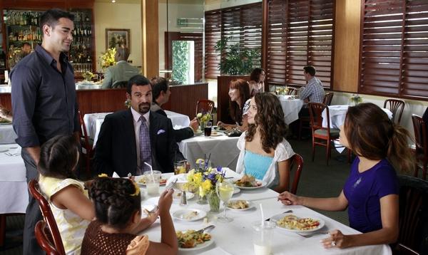 Desperate Housewives : Fotograf Eva Longoria, Jesse Metcalfe, Maiara Walsh, Ricardo Chavira