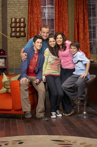 Wizards of Waverly Place : Fotograf David Deluise, David Henrie, Jake T. Austin, Maria Canals, Selena Gomez