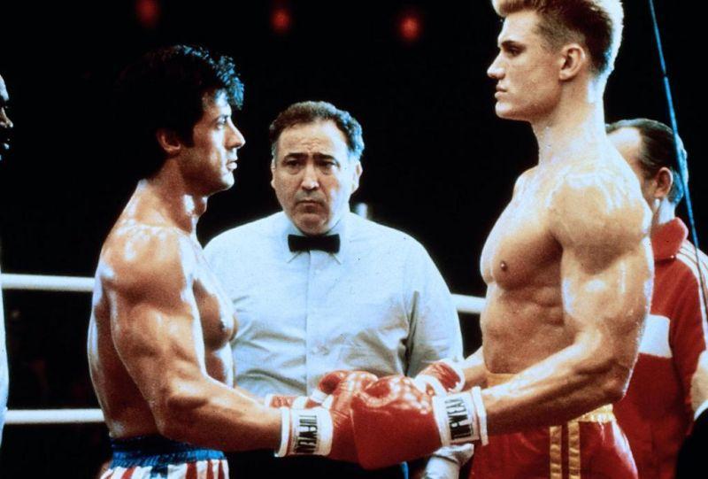 Rocky 4 : Fotograf Dolph Lundgren, Sylvester Stallone
