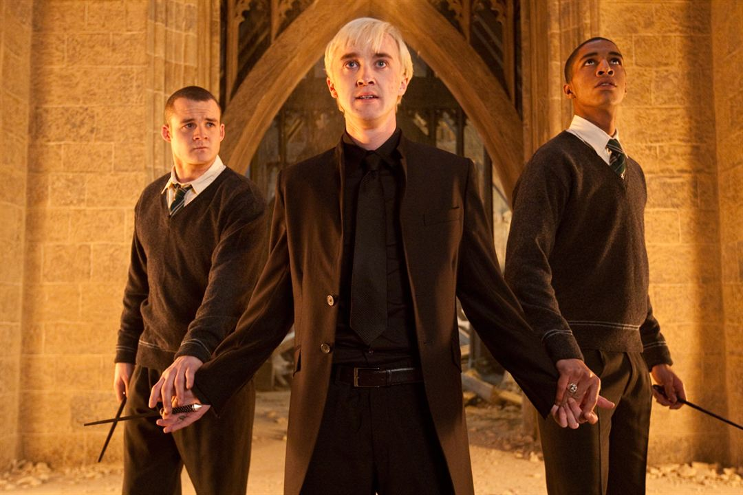 Harry Potter ve Ölüm Yadigarlari: Bölüm 2 : Fotograf Josh Herdman, Louis Cordice, Tom Felton