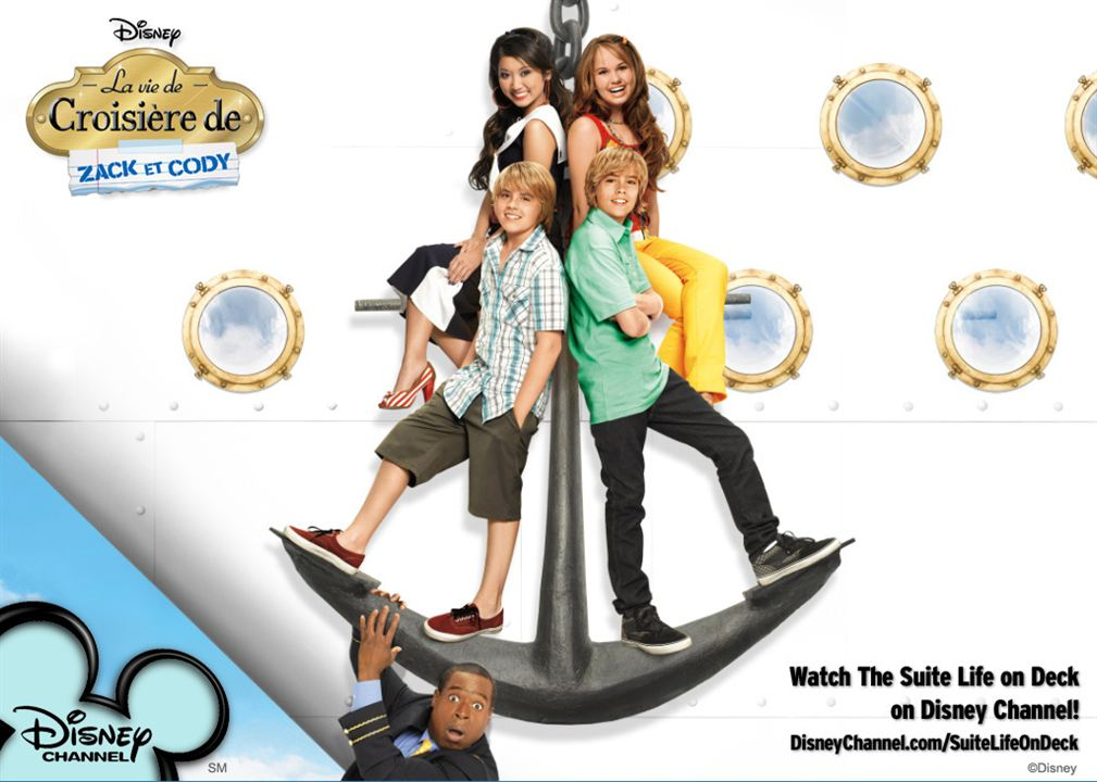 The Suite Life on Deck : Fotograf Brenda Song, Cole Sprouse, Debby Ryan, Dylan Sprouse, Phill Lewis