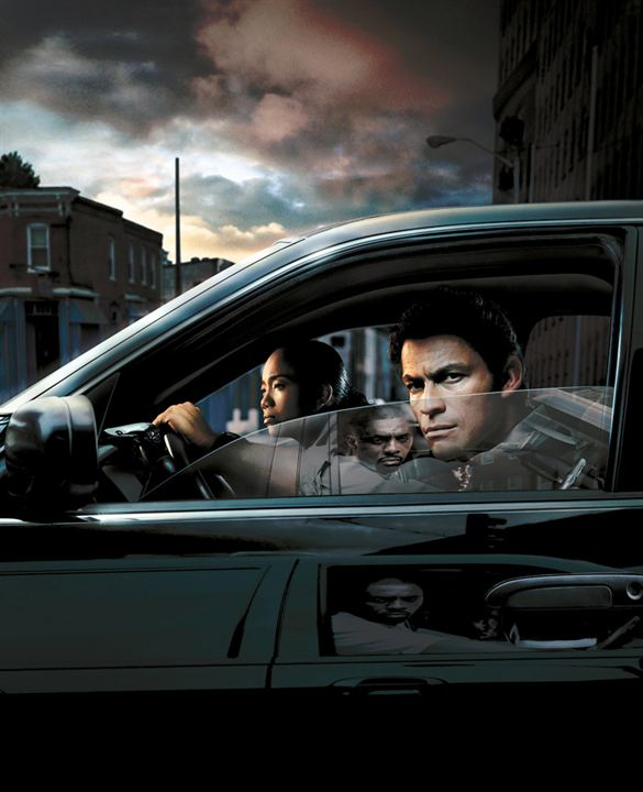 The Wire : Fotograf Dominic West, Sonja Sohn