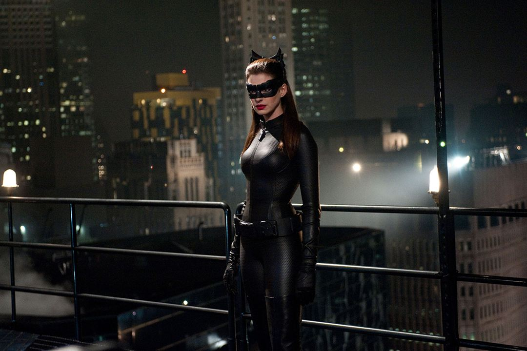 Kara Sövalye Yükseliyor : Fotograf Anne Hathaway