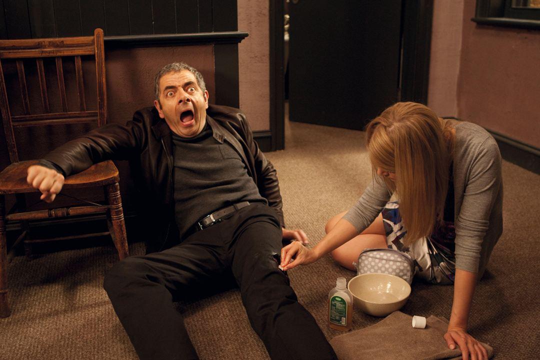 Johnny English'in Dönüsü : Fotograf Rosamund Pike, Rowan Atkinson