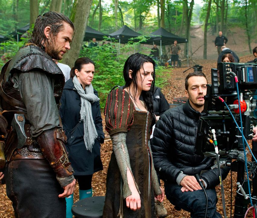 Pamuk Prenses ve Avci : Fotograf Chris Hemsworth, Kristen Stewart, Rupert Sanders