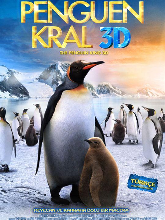 Penguen Kral 3D : Afis