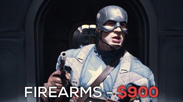 Silahlar - 900 dolar