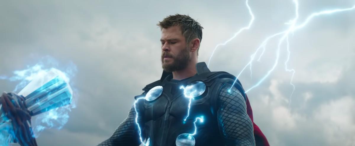 Thor'un Thanos'u Öldürmesi
