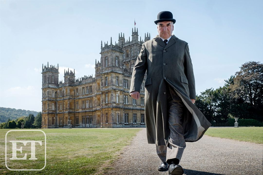 """Downton Abbey"" Filminden Set Arkası Kareleri!"