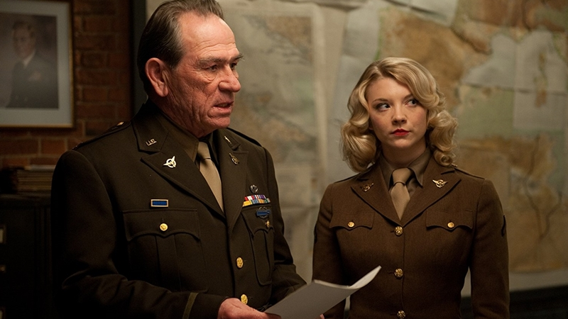 Tommy Lee Jones ve Natalie Dormer