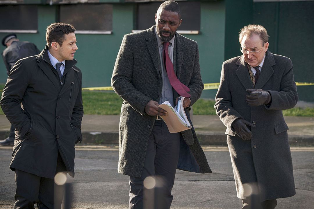 Fotograf Dermot Crowley, Idris Elba, Warren Brown